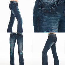 Cowgirl Tuff 'TURQUOISE' Jeans