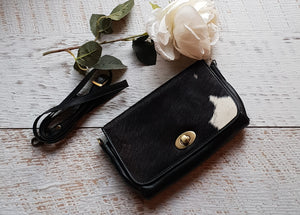 'Italy' Cowhide Clutch