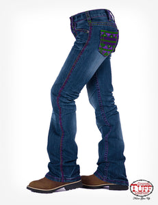 Cowgirl Tuff Girls Aztec Reboot Jeans