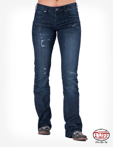 Cowgirl Tuff Haulin and Haustlin Jeans