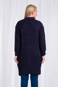 Kody cable knit navy