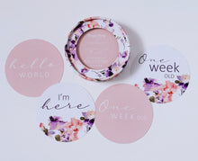 Blushing Beauty & Musk Pink Reversible Milestone Cards
