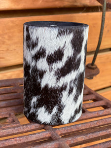 Cowhide stubby holder ( bottle )