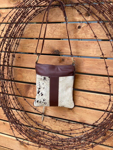 'Ibiza' Cowhide Bag brown