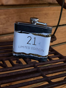 Hip flask 21 limited edition