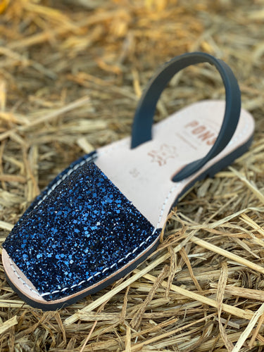 Glitter Pons Shoes - NAVY