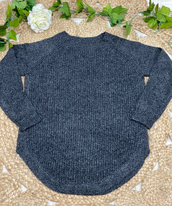 Claudia grey knit