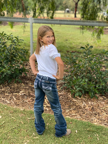 Girls Edgy Jeans Cowgirl Tuff