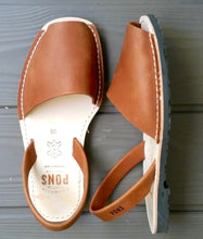 Leather Pons Shoes - TAN