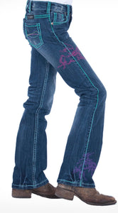 Cowgirl Tuff Girls Rodeo Jeans