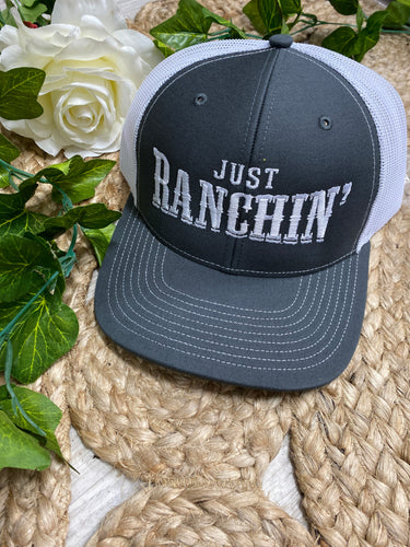 Dale Brisby just ranchin mesh cap