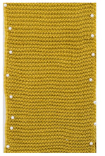 Scarf snood knit 🧶 mustard with pearls