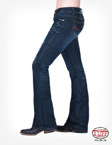 Cowgirl Tuff Lazy Day 11 Natural Waist fit Tuff Flex Jeans