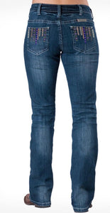 Cowgirl Tuff 'AZTEC MUSTANG' Jeans