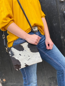 Cowhide bag /clutch Toronto BC black