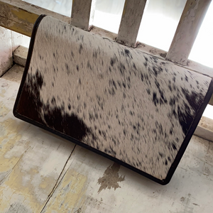 Cowhide wallet buffalo