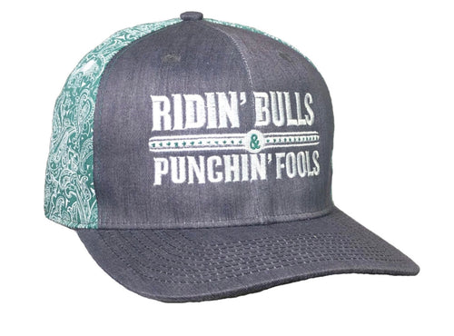 Dale Brisby Ridin bulls and punchin fools Cap