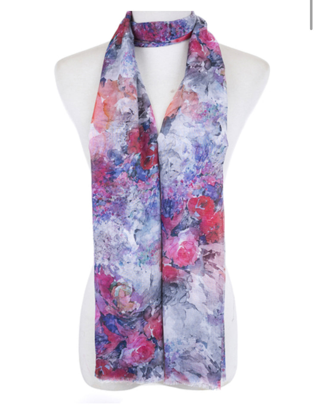 Scarf floral