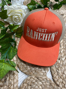 Dale Brisby Just ranchin mesh back cap
