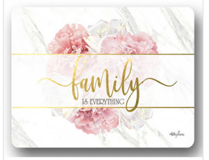 PLACEMAT S/6 29X21.5 BLUSH CRUSH FAMILY