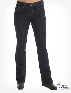 Cowgirl Tuff 'JUST TUFF' Jeans - Dark Wash