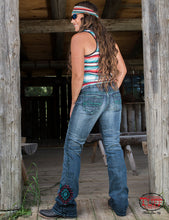 Cowgirl Tuff 'South West Pride' Natural Waist Fit Jeans