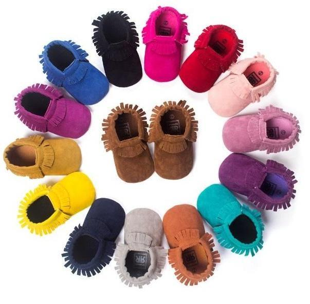 Baby Moccasins Non-Slip Soft Shoes