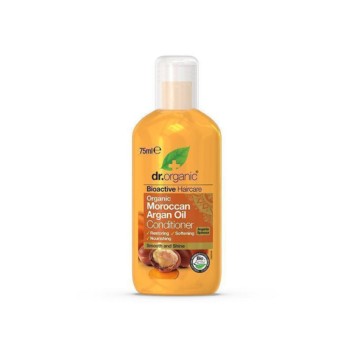 Moroccan Argan Oil Conditioner Travel Size 75ml - Dr Organic