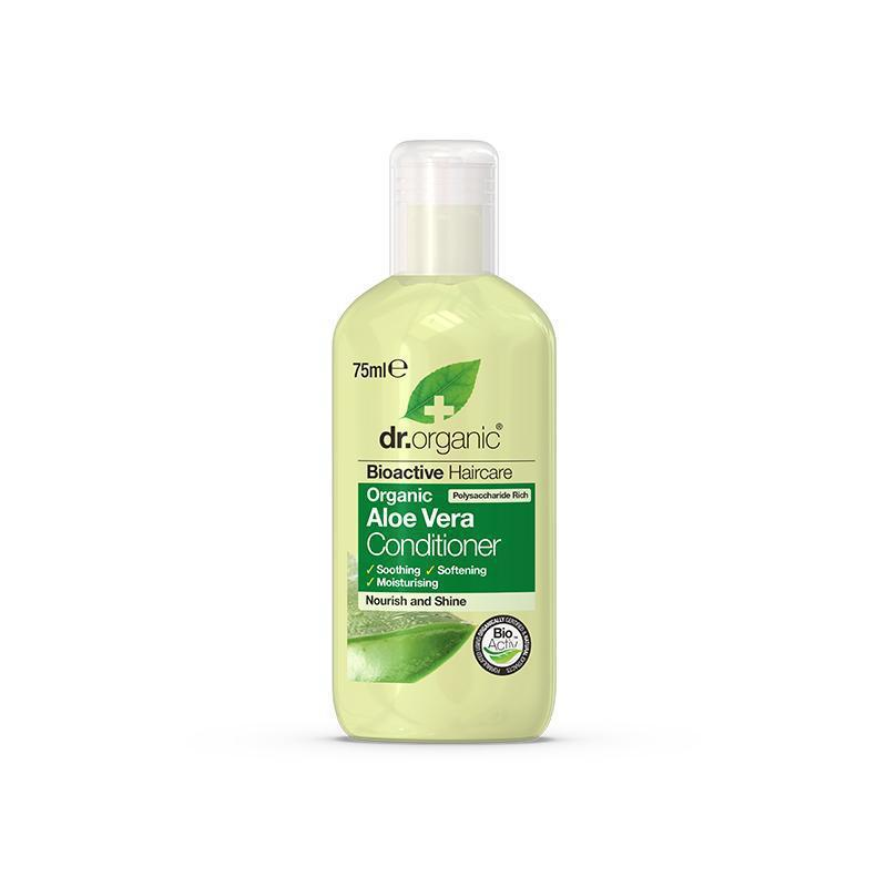 Aloe Vera Conditioner Travel Size 75ml - Dr Organic