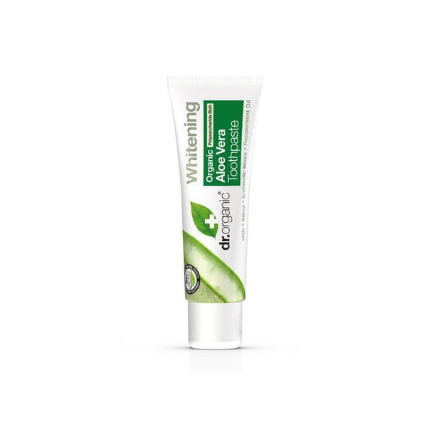 Aloe Vera Toothpaste Travel Size 20ml - Dr Organic