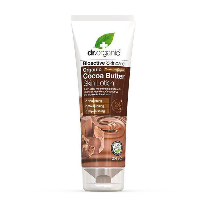 Cocoa Butter Skin Lotion 200ml - Dr Organic
