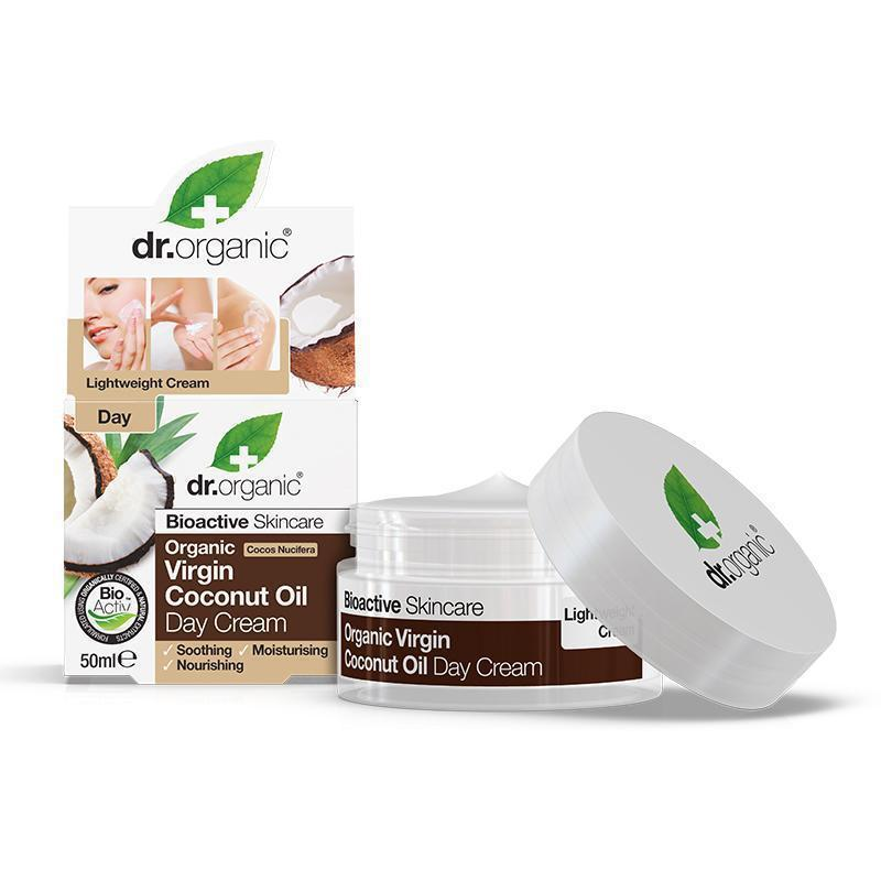 Virgin Coconut Oil Day Cream 50ml - Dr Organic