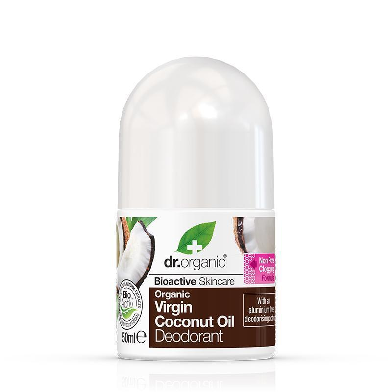 Virgin Coconut Oil Deodorant 50ml - Dr Organic