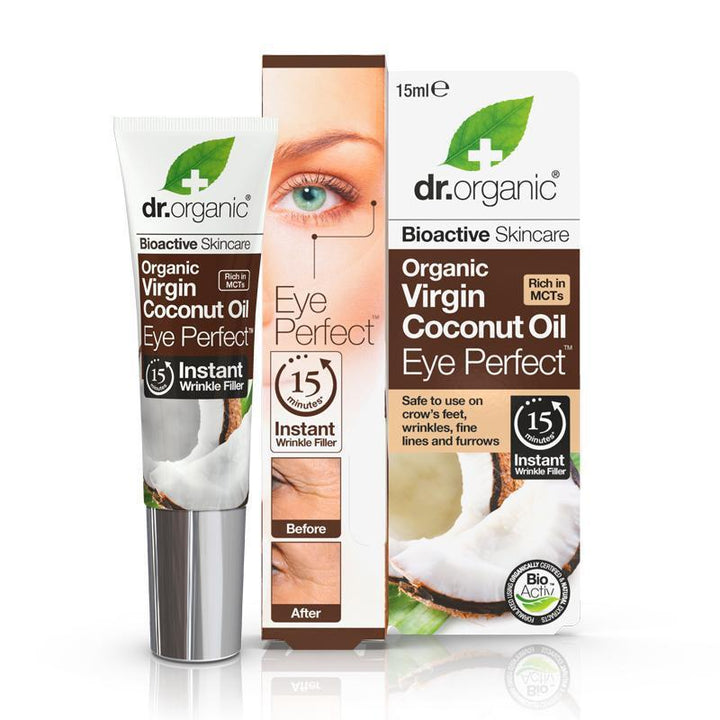 Virgin Coconut Oil Eye Perfect Eye Perfect 15ml - Dr Organic