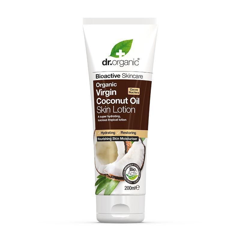Virgin Coconut Oil Skin Lotion 200ml - Dr Organic