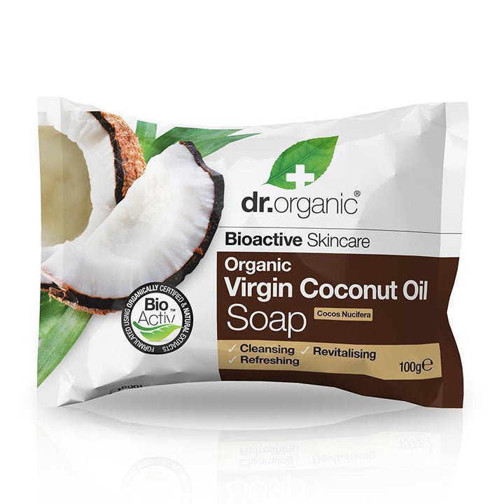 Virgin Coconut Oil Soap 100g - Dr Organic