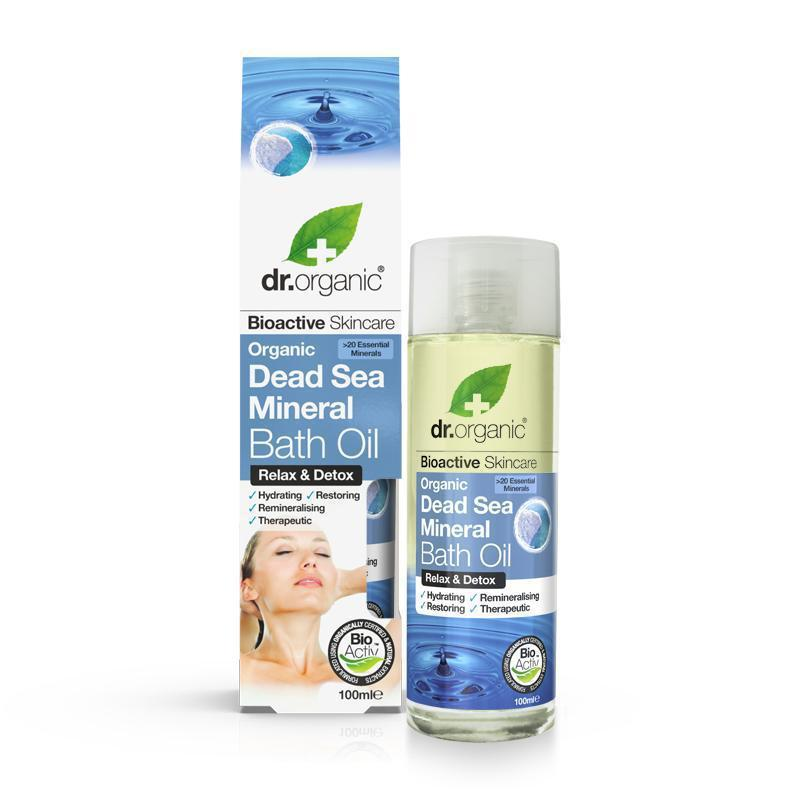 Dead Sea Mineral Bath Oil 100ml - Dr Organic