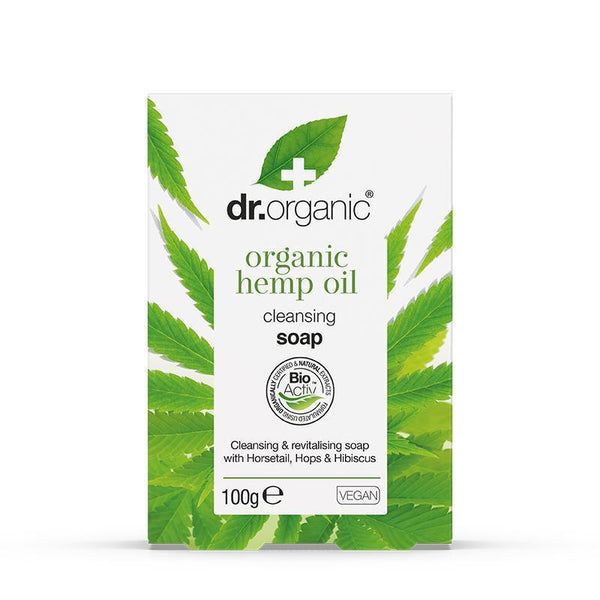 Hemp Oil Soap 100g - Dr Organic