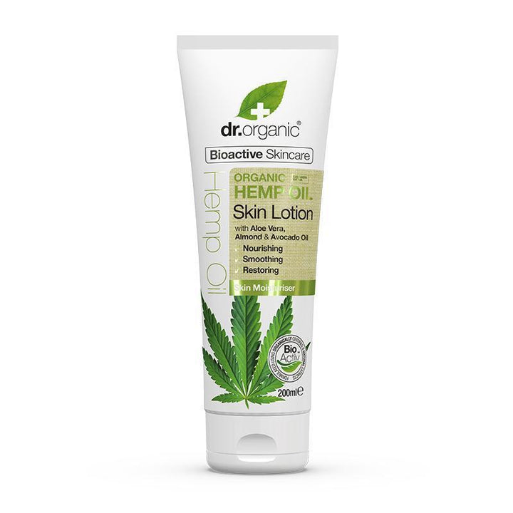 Hemp Oil Skin Lotion 200ml - Dr Organic
