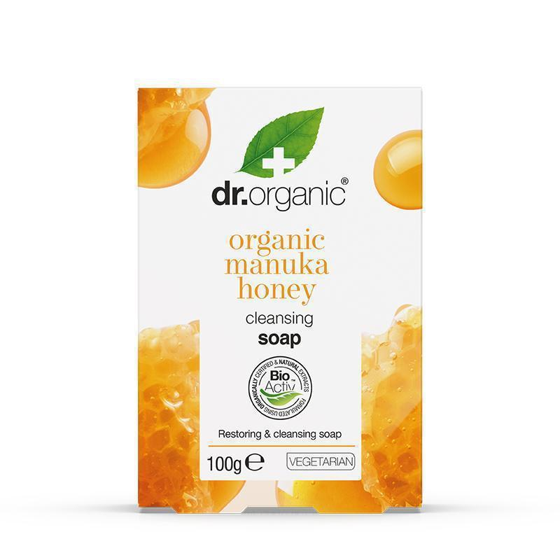 Manuka Honey Soap 100g - Dr Organic