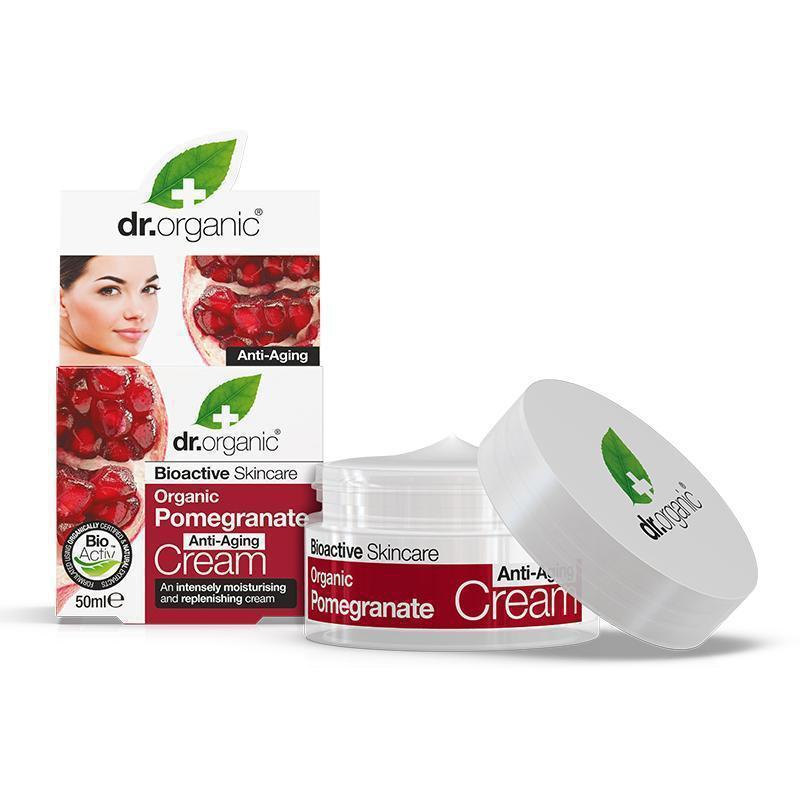 Pomegranate Healthy-Ageing Cream 50ml - Dr Organic