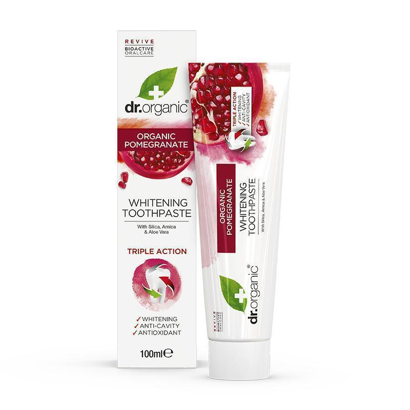 Pomegranate Toothpaste 100ml - Dr Organic