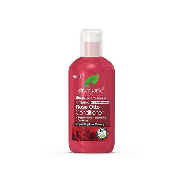 Rose Otto Conditioner Travel Size 75ml - Dr Organic