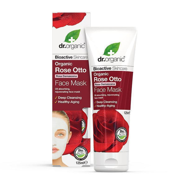 Rose Otto Face Mask 125ml - Dr Organic
