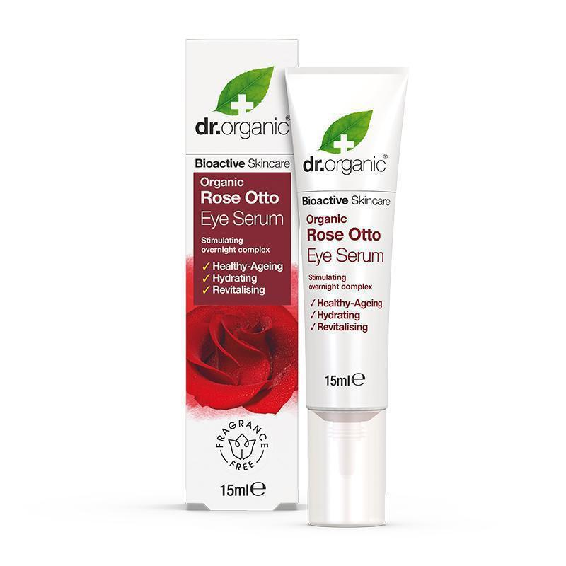 Rose Otto Eye Serum 15ml - Dr Organic