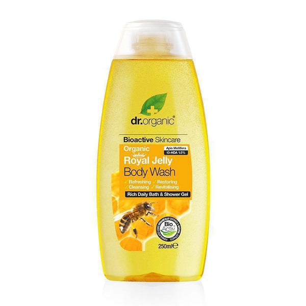 Royal Jelly Body Wash 250ml - Dr Organic