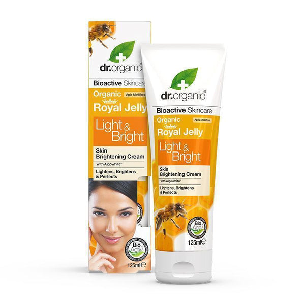 Royal Jelly Light & Bright Cream 125ml - Dr Organic