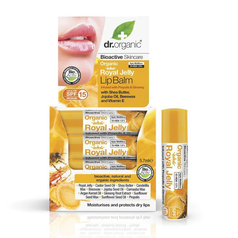 Royal Jelly Lipbalm 5.7ml - Dr Organic