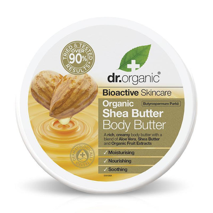 Shea Butter Body Butter 200ml - Dr Organic