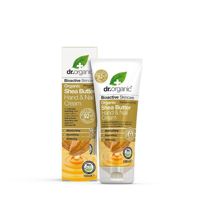 Shea Butter Hand & Nail Cream 100ml - Dr Organic